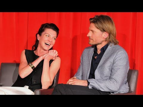 One minute of Michelle Fairley's laugh