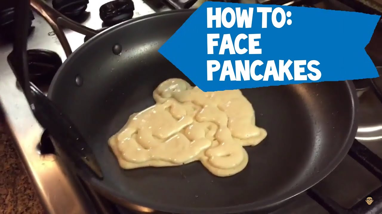 How to make your face pancakes youtube how to make your face pancakes ccuart Gallery
