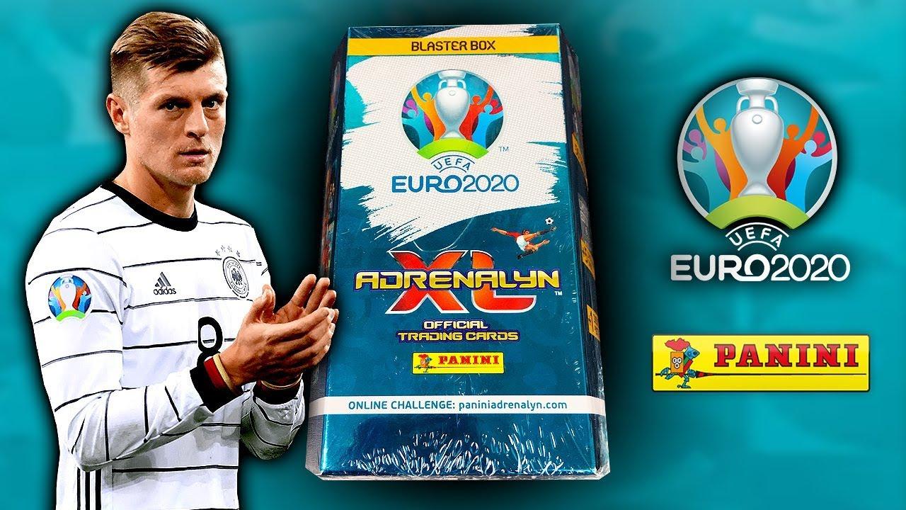 Panini Adrenalyn XL UEFA Euro EM 2020 4x Premium Gold Limited Edition Set