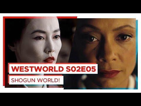 WESTWORLD | BEM VINDO AO SHOGUN WORLD! | S02E05