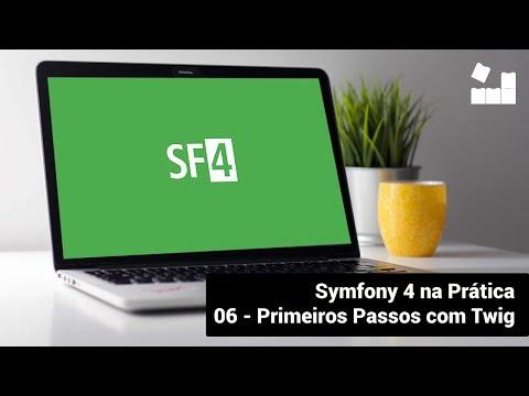 Vídeo no Youtube: [Symfony 4 na Prática | Módulo Introdutório] - 6 Primeiros Passos com Twig #symfony4