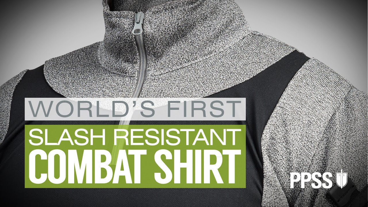 The World's First Slash Resistant UBAC Combat Shirt
