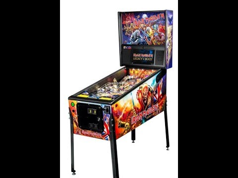 """Iron Maiden """"Legacy of the Beast"""" Pinball Machines limited edition 500 globally..!"""