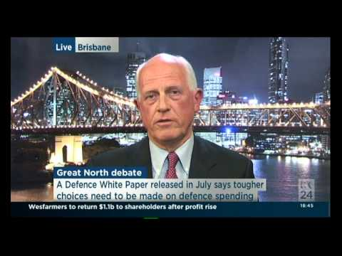 John Blaxland & Russell Trood on defence of northern Australia ABC News 24 20 Aug 2014