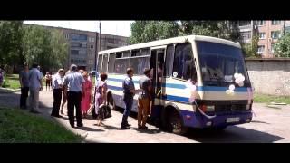 Свадебный автобус. видеооператор на свадьбу в Антраците