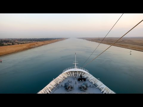 Cruising the New Suez Canal Expansion