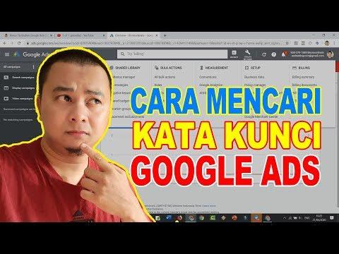 Cara Pakai Google Keyword Planner Untuk Ide Konten.