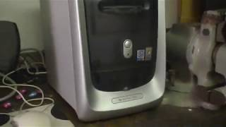 HP Pavilion 760c running Windows XP