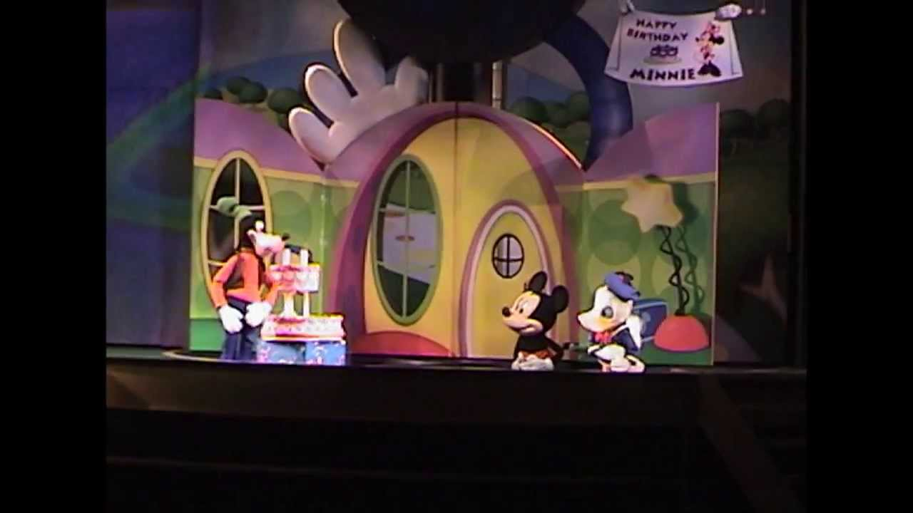 Disney Mickey Minnie And Playhouse Disney - Live On Stage! At Disney's Hollywood