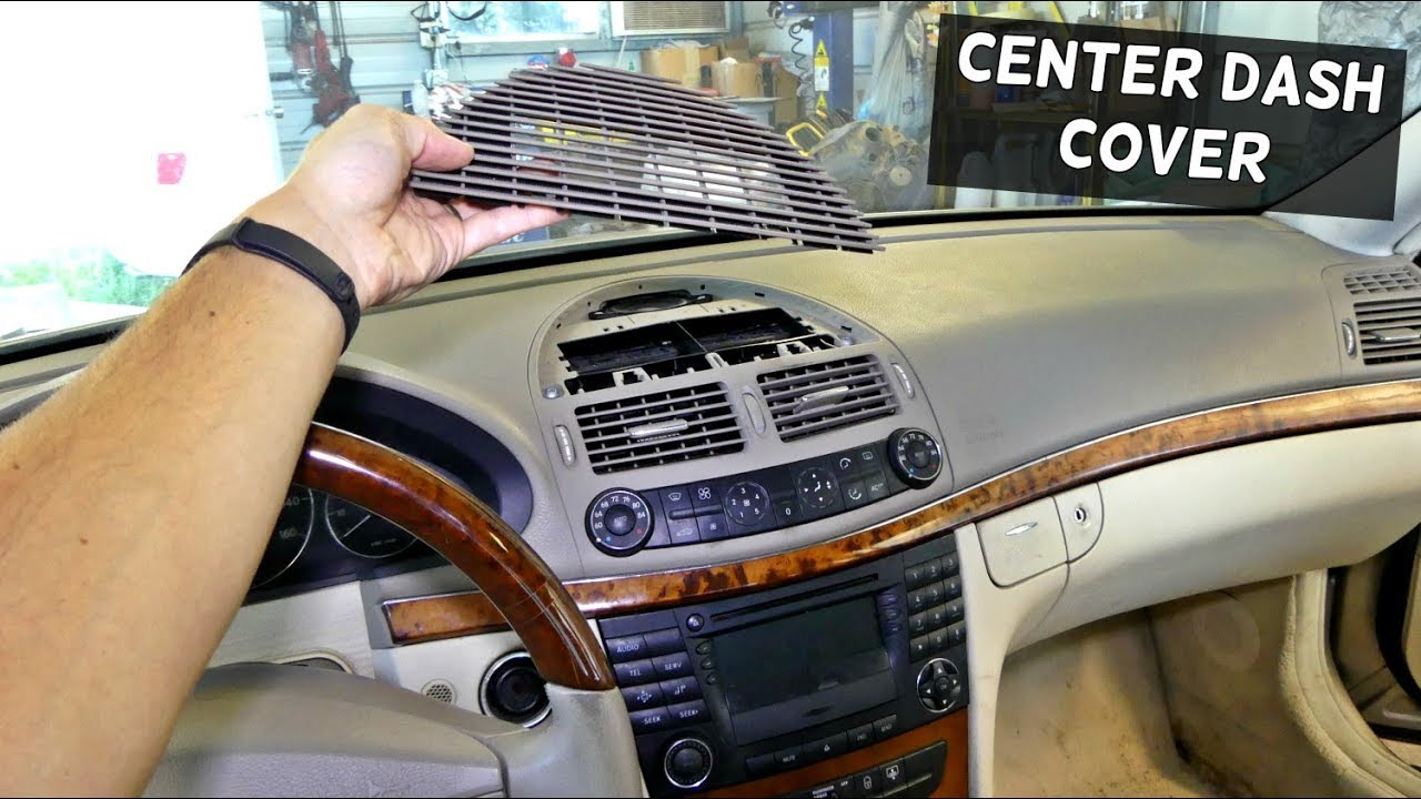 Mercedes W211 Center Dash Vent Removal Replacement Youtube
