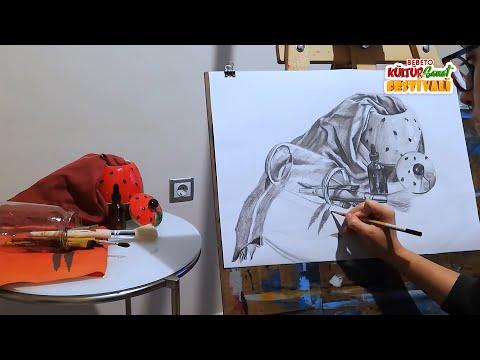 Bebeto Kültür & Sanat Festivali | Pastel Boya Çalışması, Natürmort Teknikleri, Tiyatro Röportajı