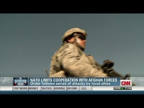 Fewer patrols with Afghan forces after insider attacks