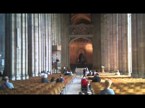 Virtual Tour Canterbury Cathedral Music By The Singing Vicar + Youtube Film Stabilizer In Action