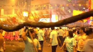 2015 Fire Dragon Dance has 136 anniversary(3)Tai Hang HK.