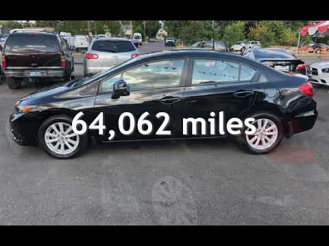2012 Honda Civic EX for sale in PORTLAND, OR