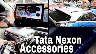 Tata Nexon Accessories with 10 inch Android System!!