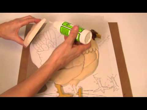 Kathy Wise Intarsia Woodworking With Satellite City Instant Glues