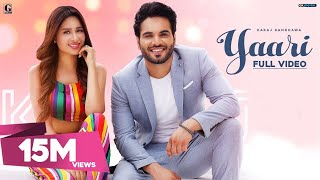 Yaari : Karaj Randhawa (Full Song) Mahira Sharma | Latest Punjabi Songs 2019 | Geet MP3