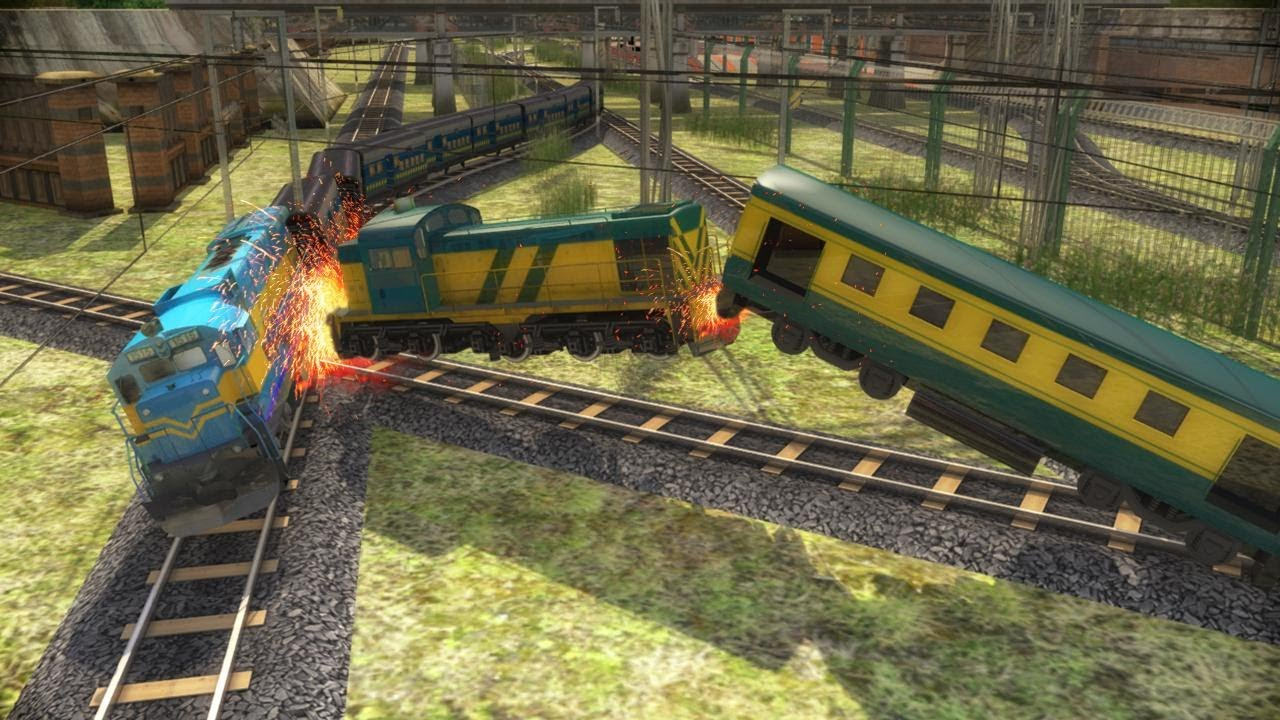 Indian Train Racing Games 3d Multiplayer Android