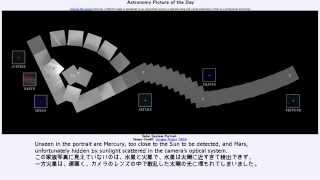 2015年 2月14日 「太陽系家族写真」-Astronomy Picture of the Day