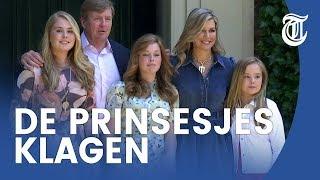 Máxima: 'Prinsesjes klagen over iPhone-regime'