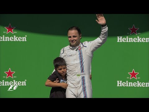 Felipe Massa's Emotional Final Race in Brazil | 2017 Brazil Grand Prix