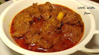 Punjabi Mutton Masala | Dhaba Style Mutton Masala/पंजाबी मटन मसाला - Bakra Eid Special/English Subs