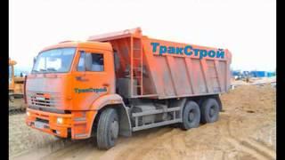 видео Песок и щебень с доставкой в СПб
