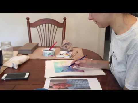 Kelly McCarthy - Watercolor Portrait