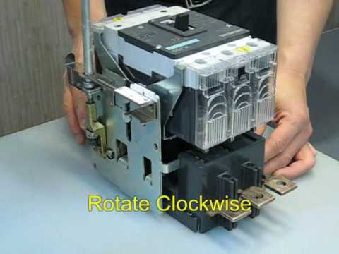 Siemens 3VL MCCB Operation (廣東話)(English subtitle)  YouTube