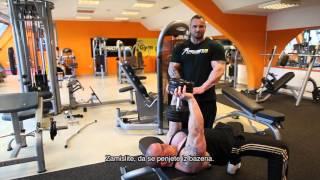 Miha Zupan: Trening za prsa in triceps