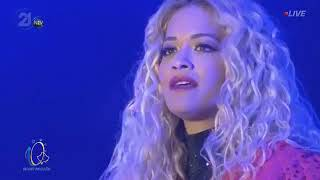 Rita Ora - I Will Never Let You Down & Shine Ya Light (Live in Kosovo 2018)