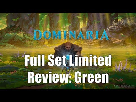 Dominaria Full Set Limited Review: Green