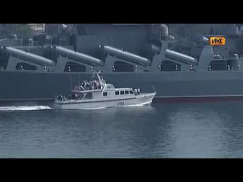 Naval parade in Sevastopol to the Russian Navy Day 2016