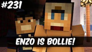 Minecraft survival #231 - ENZO IS BOLLIE!