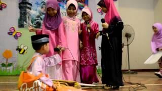 Majlis Konvokesyen Tadika Orange 2012-Sketsa Syukur