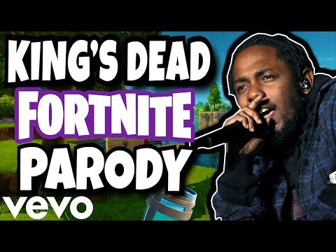 """KING'S DEAD"" (Fortnite Parody) - Jay Rock, Kendrick Lamar, Future, James Blake"