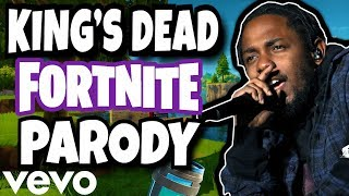 """KING'S DEAD"" (Fortnite Parody) - Jay Rock, Kendrick Lamar, Future, James Blake"