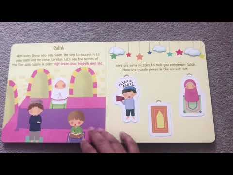 5 Pillars of Islam Kids Puzzle Book - @LittleBelieversBooks