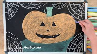 Sally's Song ♫ Chalk Art Lullaby (Nightmare Before Christmas)