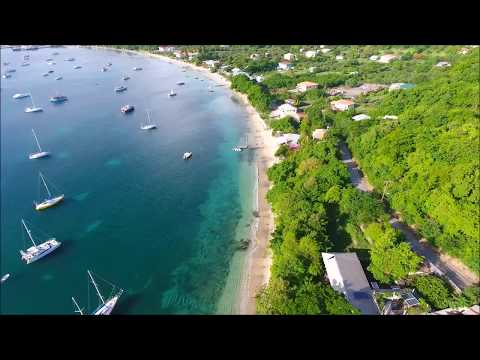 Drone clips of Carriacou Island (Grenada)