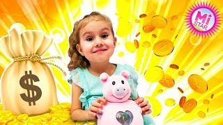 Обзор игрушки - Хлопушка Сюрприз, Кукла в Конфетти Пати Поп Тинис ! Party Pop Teenies Милана Milana