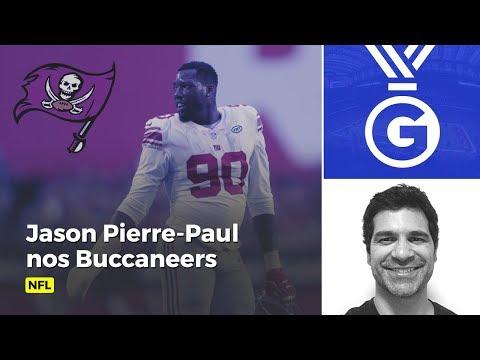 Troca na NFL! Paulo Antunes comenta a chegada de Jason Pierre-Paul nos Buccanners