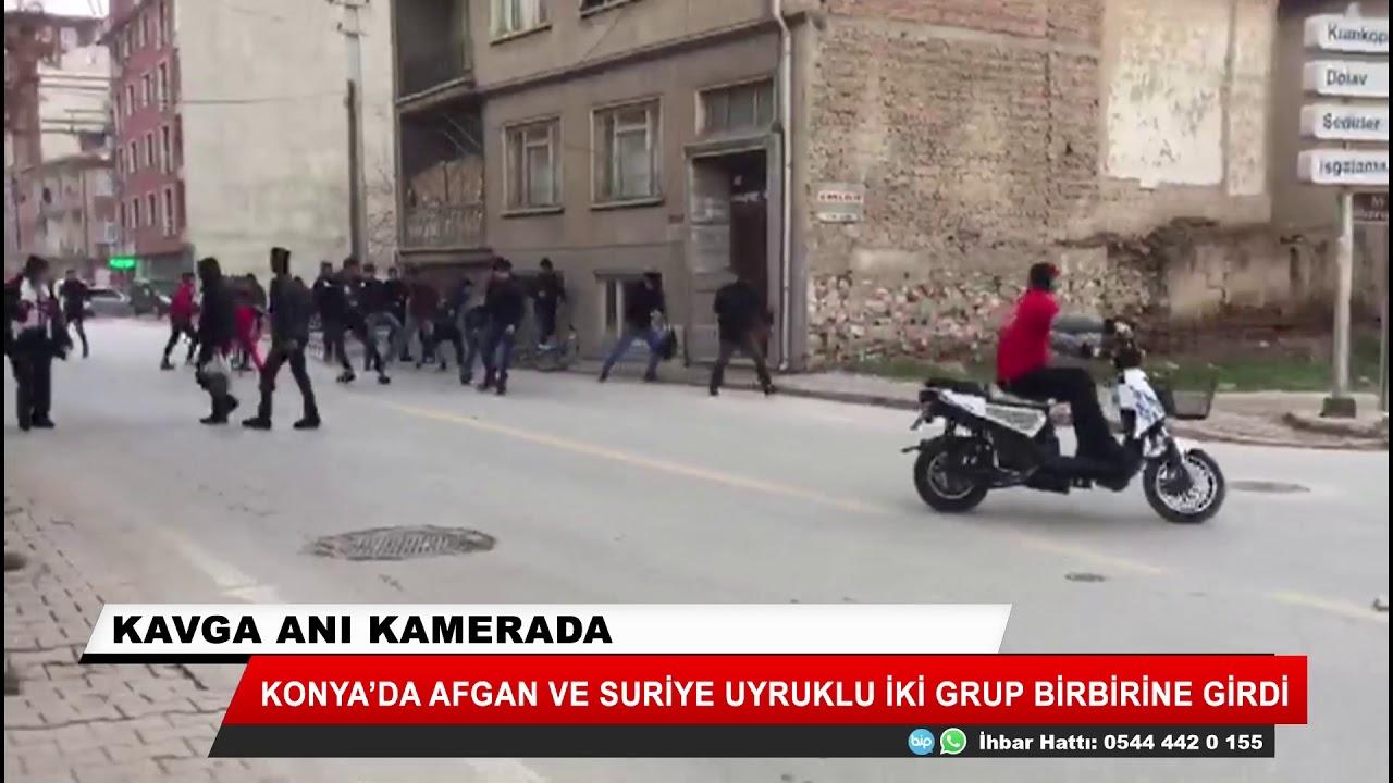 Konya'da kavga! Afgan ve Suriye uyruklu iki grup birbirine girdi