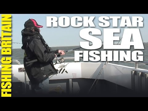 Sea Fishing with a Rock Star - Fishing Britain episode 16