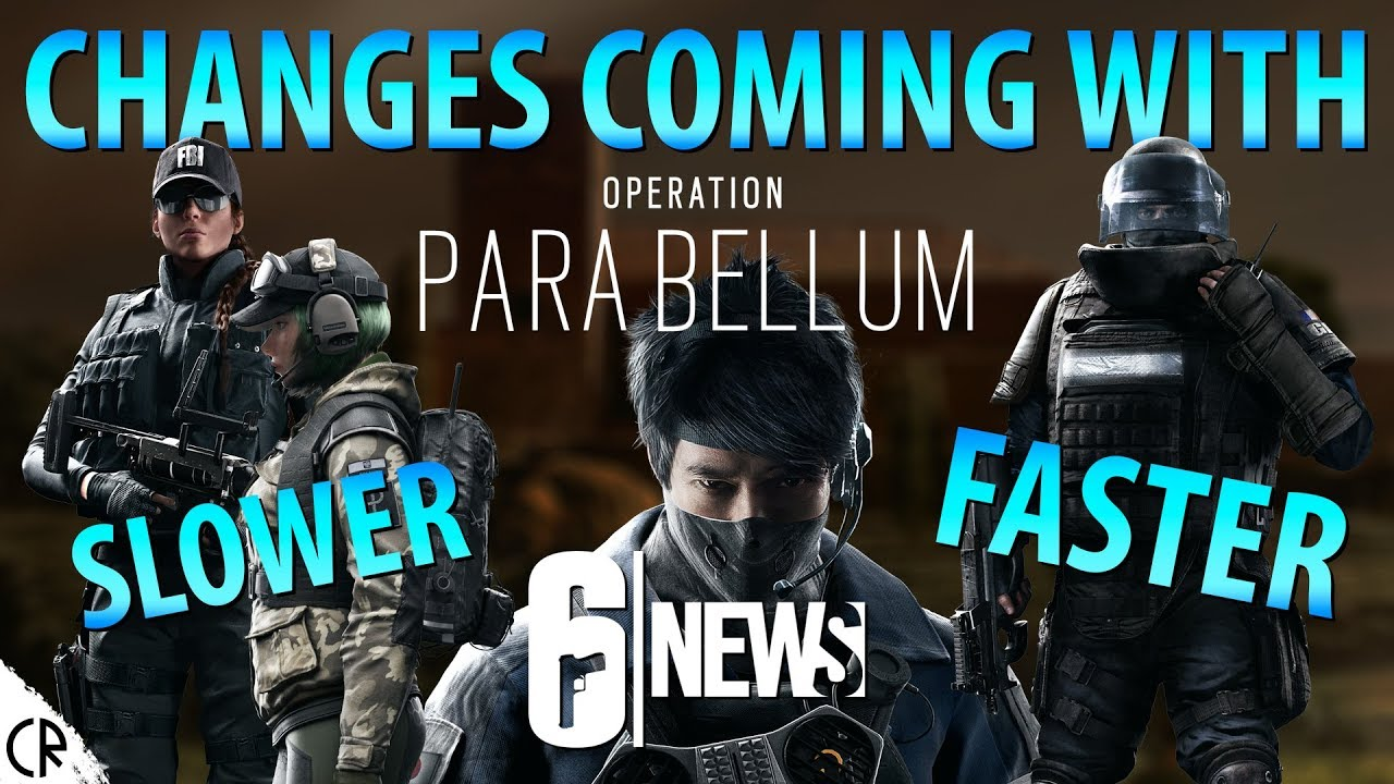 Rainbow Six Siege's Operation Para Bellum buffs Echo ...