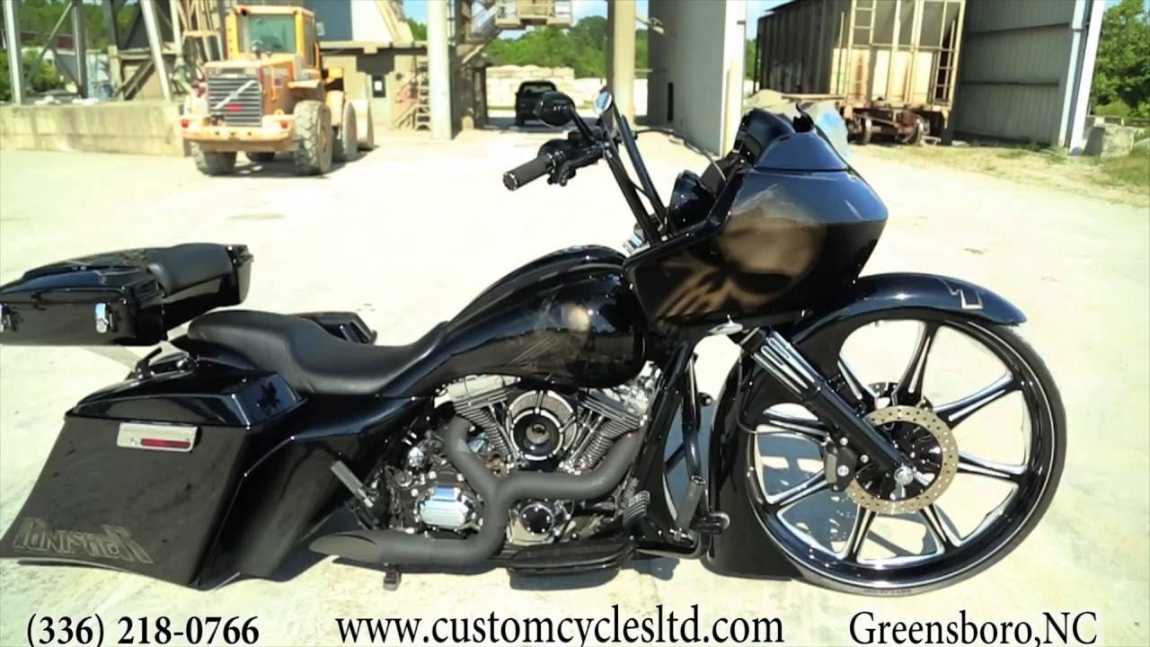 Custom Cycles Ltd Punisher 30 Inch Harley Davidson Big Wheel