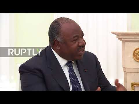 Russia: 'Africa needs you' - Gabon, Sudan Presidents meet Putin ahead of WC final