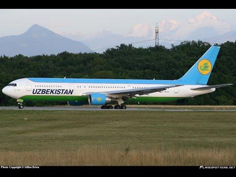 Tashkent Uzbekistan (UTTT) to New York JFK (KJFK) FSX Uzbekistan Air B767-300