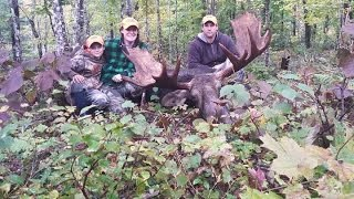 2015 Maine moose hunt